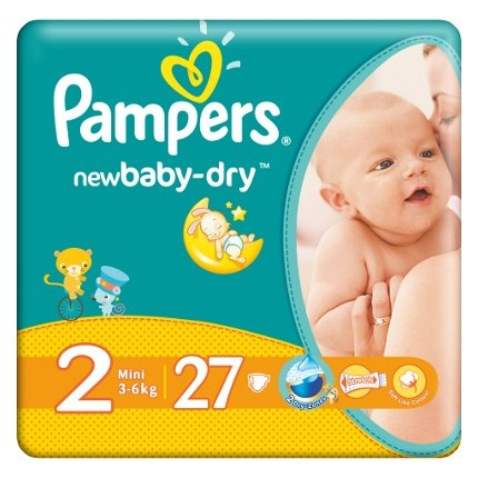 Pampers New Baby Mini Nr 2 27buc