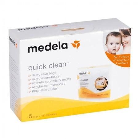 Pungi sterilizare pompa Quick Clean Medela