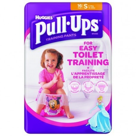 Chilotei antrenament olita Pull-Ups Huggies S (8-15kg) fetite