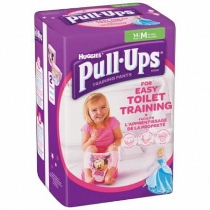 Chilotei antrenament olita Pull-Ups Huggies M (10-18kg) fetite