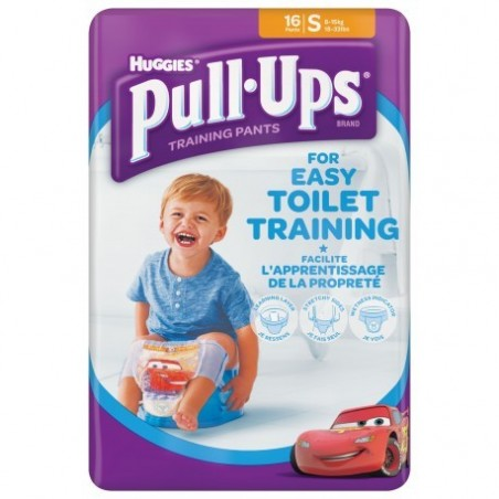 Chilotei antrenament olita Pull-Ups Huggies S (8-15kg) baieti
