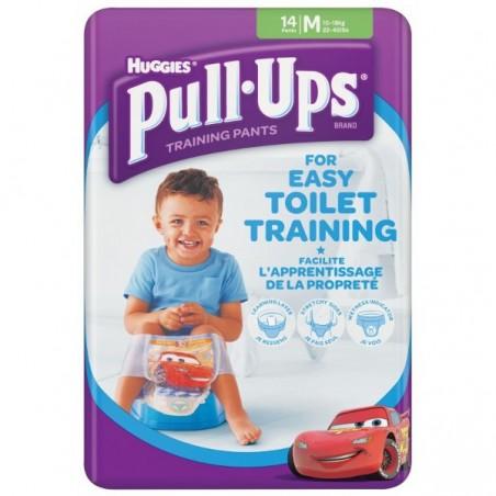 Chilotei  antrenament olita Pull-Ups Huggies M (10-18kg) baieti