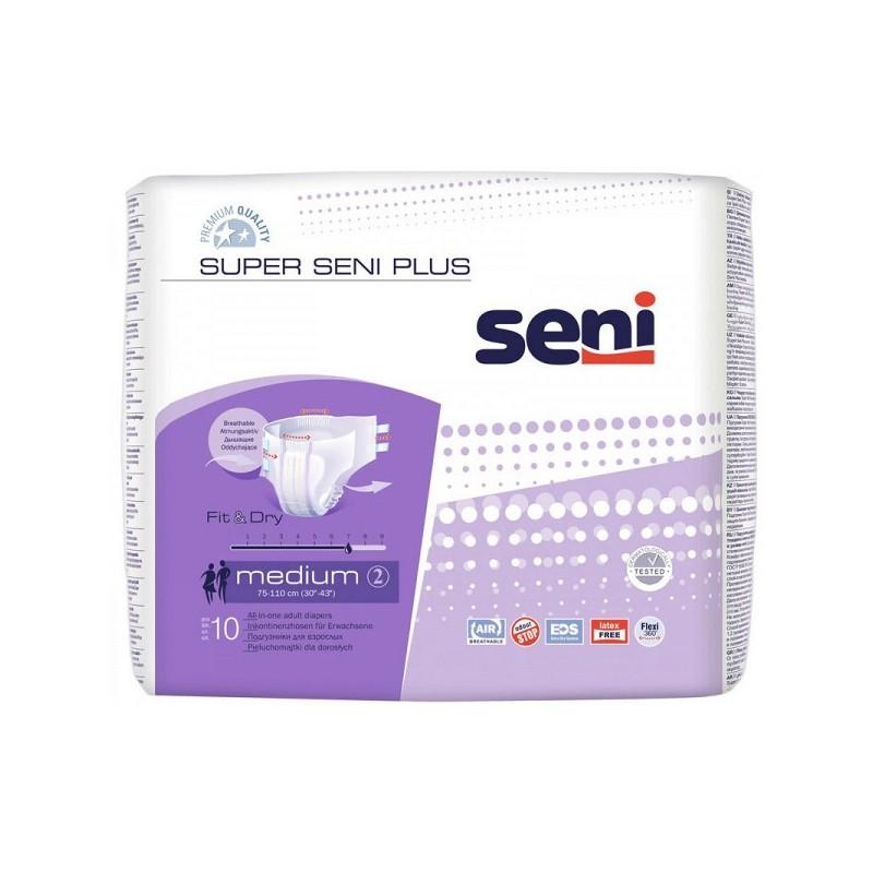 Scutece Super Seni Plus Air Medium Nr 2 10buc