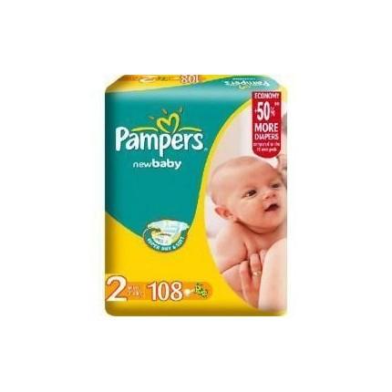 Scutece Pampers New Baby Nr 2 Mini 108buc