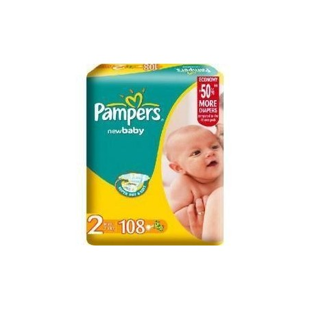 Scutece Pampers New Baby Nr 2 Mini 108buc