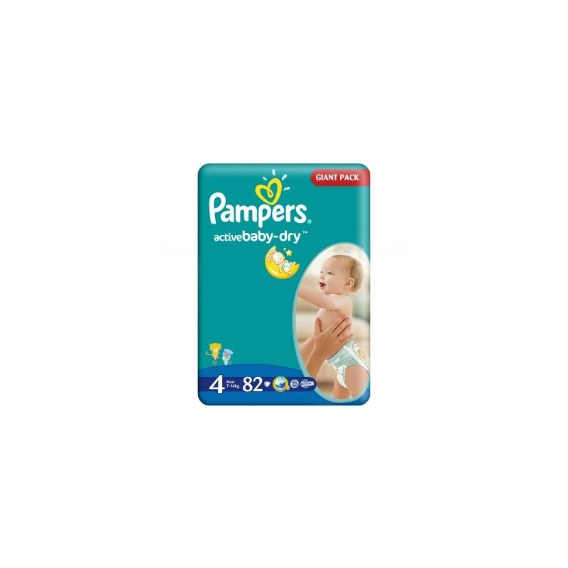Scutece Pampers Active Baby Maxi Nr 4 82buc