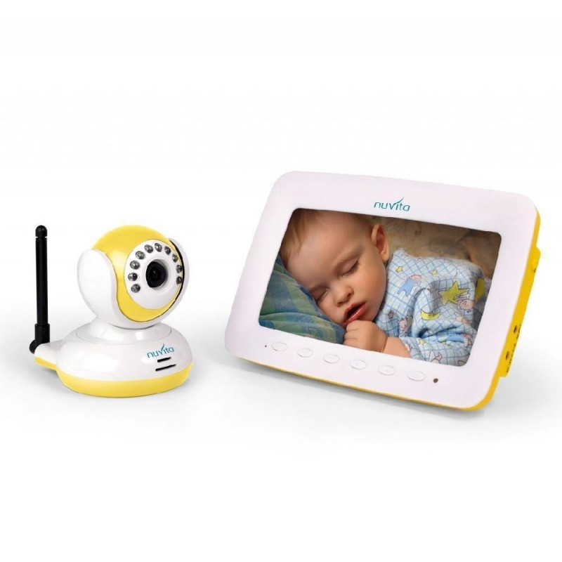 VIDEO interfon digital ecran LCD 17.8cm NUVITA