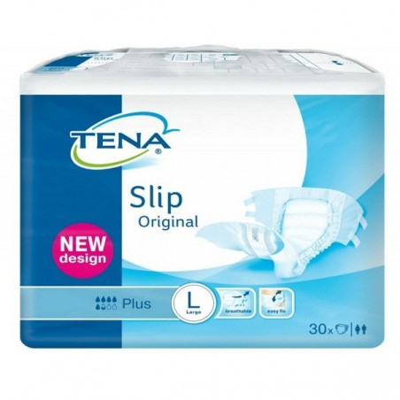 Scutece TENA Slip Original Plus Large 30buc
