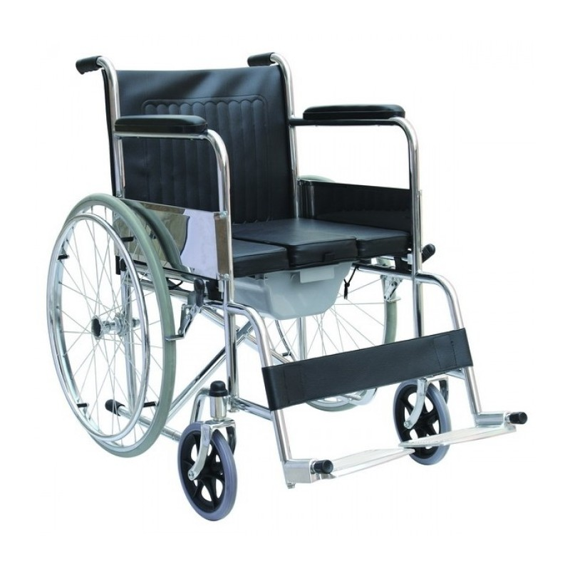 Carucior cu rotile tip scaun toaleta WC RX260