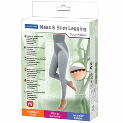 Pantalon Anticelulitic Mass and Slim Legging Lanaform