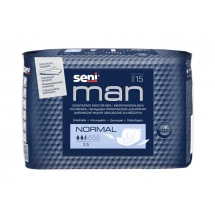 Absorbante barbati Seni Man Normal 15 buc