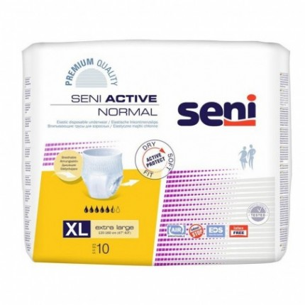 Pachet Chilot Seni ACTIVE Normal Extra Large Nr 4 8x10buc