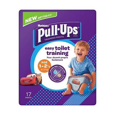 Scutec tip chilotei pentru antrenament la olita baietei Huggies Pull Ups...