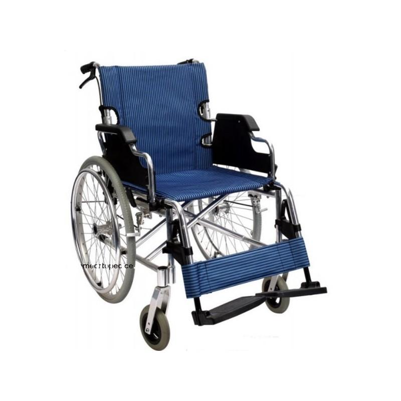 Scaun cu rotile cadru aluminiu RX108