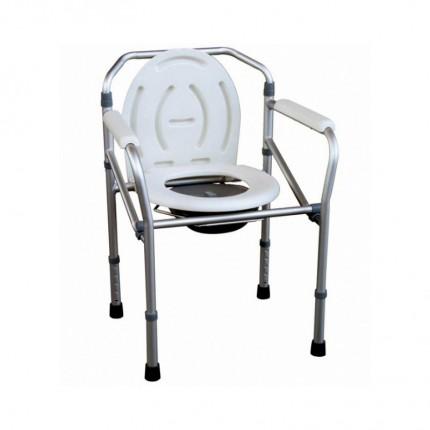 Scaun comoda WC si scaun pentru dus din aluminiu